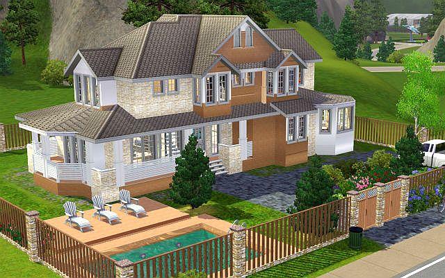 Rodinn Domek 27 Family House Jarkad Sims3 Blog