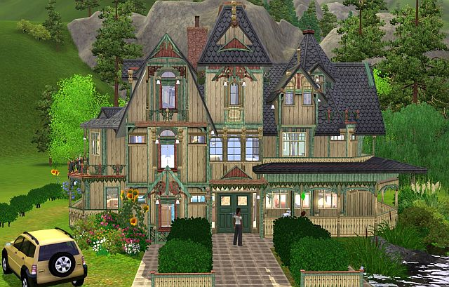 Star viktori nsk d m 2 old victorian house 2 jarkad for Classic house sims 4