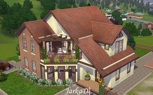 Sims 3 family house the image kid has it for A family house