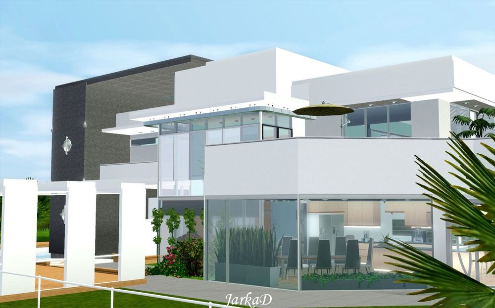 Sims  Orbital Villa
