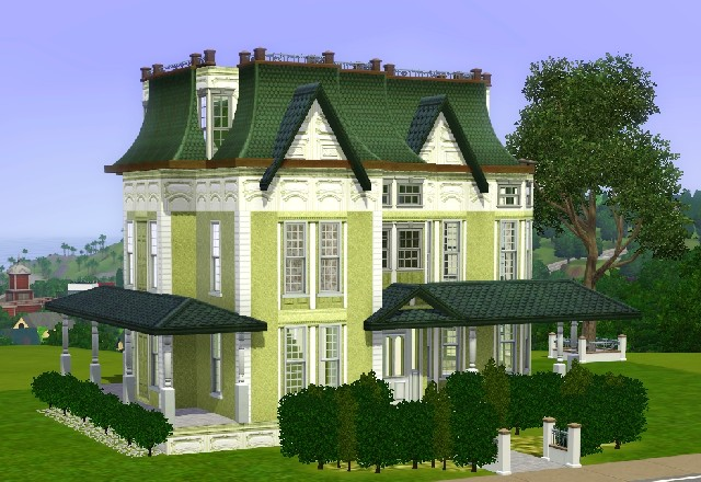 sims 2 victorian house